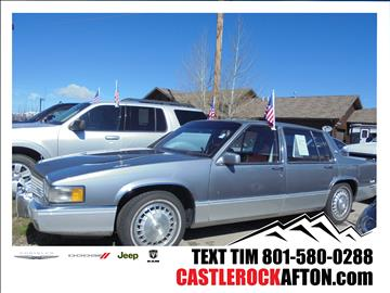 1990 Cadillac DeVille for sale in Alpine, WY
