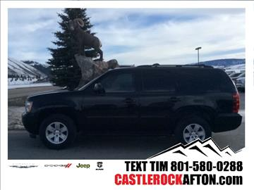 2013 Chevrolet Tahoe for sale in Alpine, WY