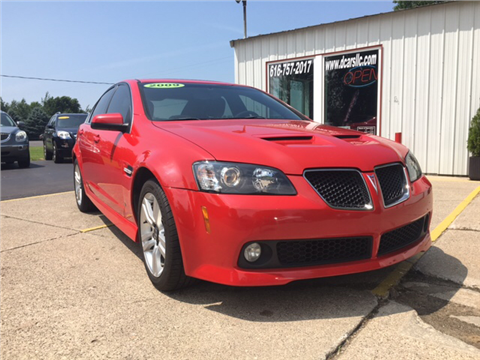 2009 pontiac g8 for sale in zeeland mi. Black Bedroom Furniture Sets. Home Design Ideas