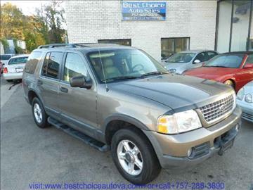 2003 Ford Explorer for sale in Virginia Beach, VA