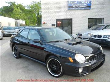2003 Subaru Impreza for sale in Virginia Beach, VA