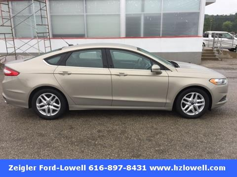 2016 Ford Fusion for sale in Lowell MI