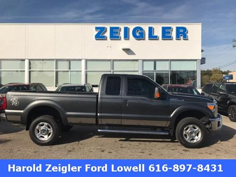 2016 Ford F-250 Super Duty for sale in Lowell, MI