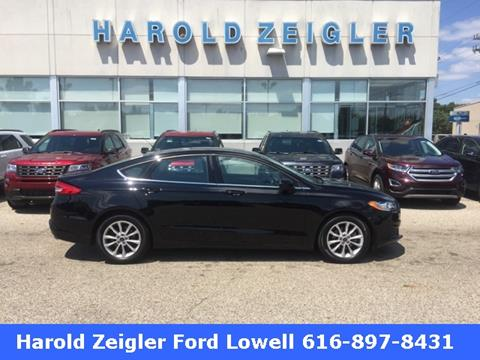 2017 Ford Fusion for sale in Lowell MI