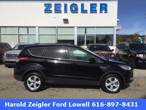2016 Ford Escape for sale in Lowell MI