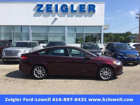 ford fusion for sale in lowell mi. Black Bedroom Furniture Sets. Home Design Ideas