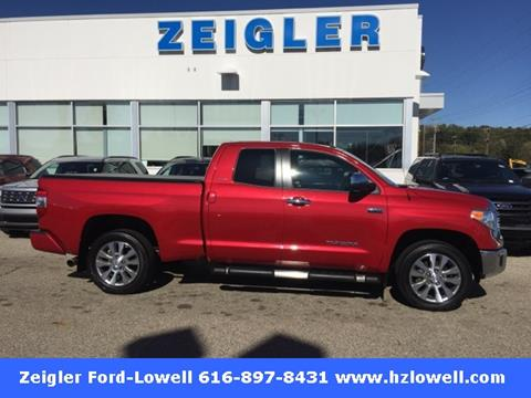 2016 Toyota Tundra for sale in Lowell, MI