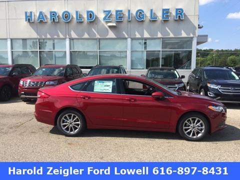 2017 Ford Fusion for sale in Lowell, MI