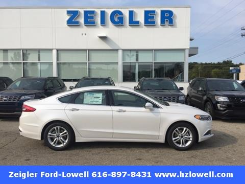 2018 Ford Fusion for sale in Lowell, MI