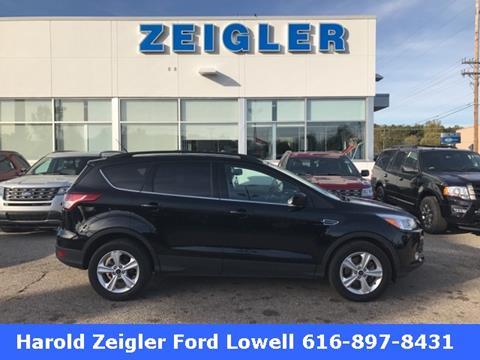 2016 Ford Escape for sale in Lowell, MI