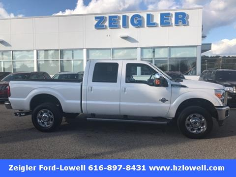 2016 Ford F-350 Super Duty for sale in Lowell MI