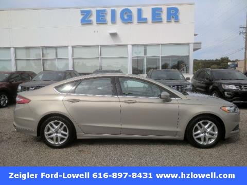 2016 Ford Fusion for sale in Lowell, MI