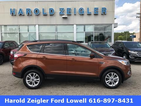 2017 Ford Escape for sale in Lowell MI