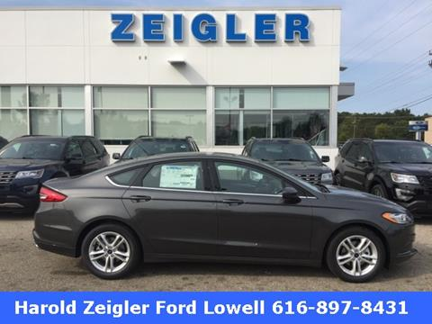 2018 Ford Fusion for sale in Lowell MI