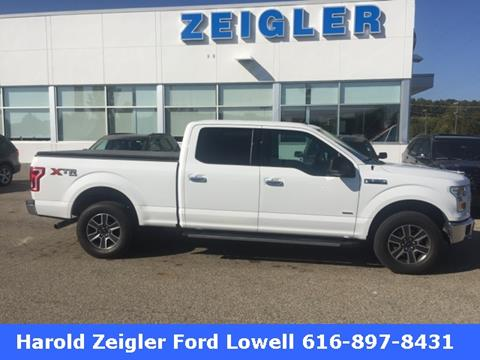 2015 Ford F-150 for sale in Lowell, MI