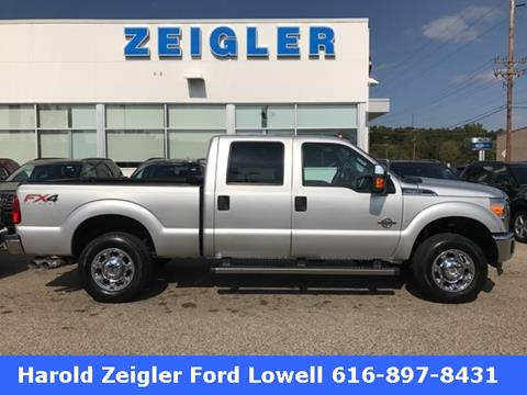 2015 Ford F-250 Super Duty for sale in Lowell, MI
