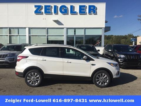 2018 Ford Escape for sale in Lowell, MI