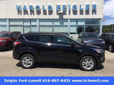 2017 Ford Escape for sale in Lowell MI