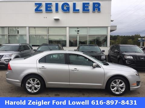 2012 Ford Fusion for sale in Lowell MI