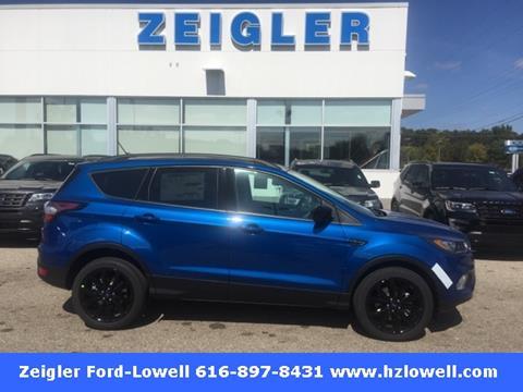 2018 Ford Escape for sale in Lowell MI