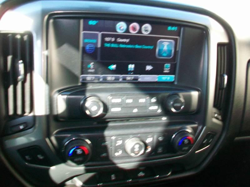 2015 Chevrolet Silverado 1500 4x4 LT 4dr Crew Cab 5.8 ft. SB - Wisner NE
