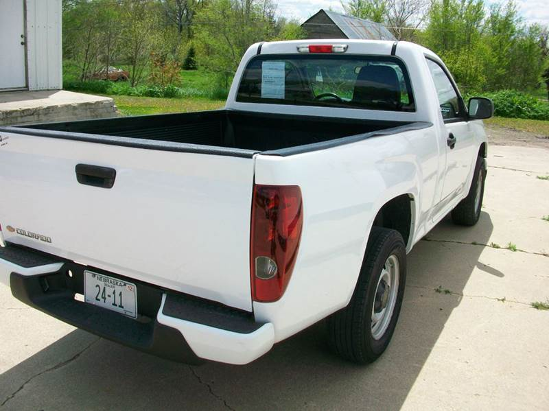 2012 Chevrolet Colorado 4x2 Work Truck 2dr Regular Cab - Wisner NE