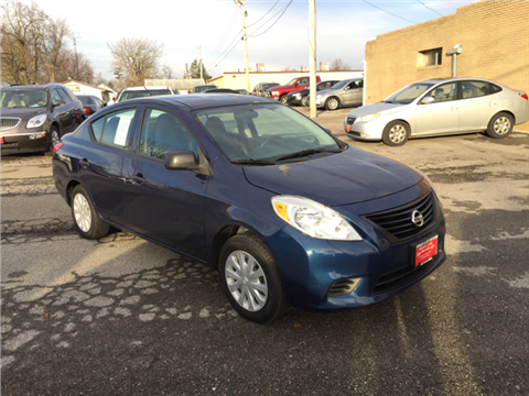 2012 Nissan Versa for sale in Russells Point, OH