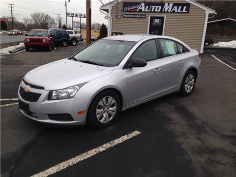 2012 Chevrolet Cruze for sale in Westfield, MA