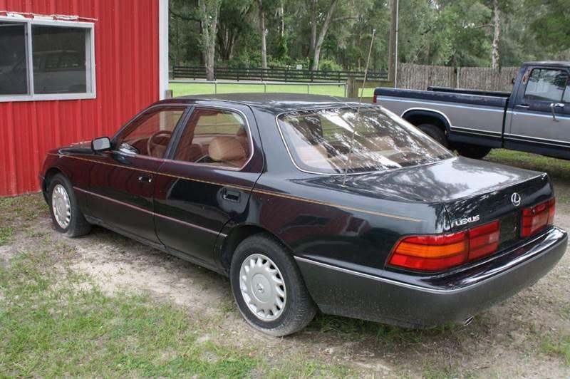 1990 lexus ls 400 4dr sedan in williston fl classic car barn. Black Bedroom Furniture Sets. Home Design Ideas