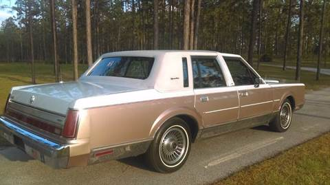 1988 Lincoln Town Car For Sale - Carsforsale.com®