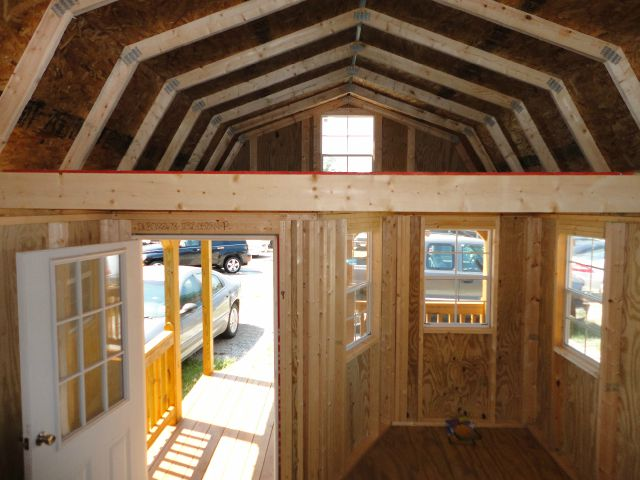 Lofted Barn Cabin Interior