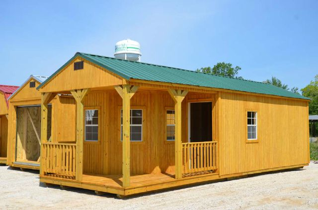 Portable Buildings In Louisiana : Deluxe cabin rent to own month