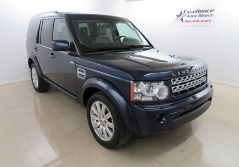 2013 Land Rover LR4 for sale in Addison, TX
