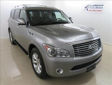 2013 Infiniti QX56 for sale in Addison, TX