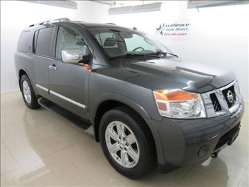 2012 Nissan Armada for sale in Addison, TX