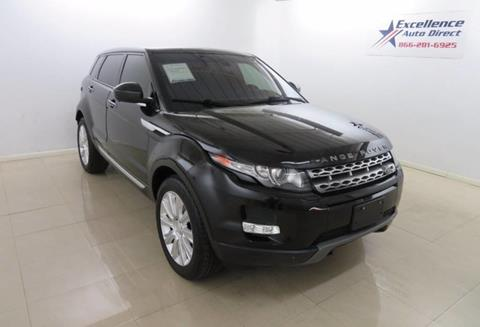 2014 Land Rover Range Rover Evoque for sale in Addison, TX