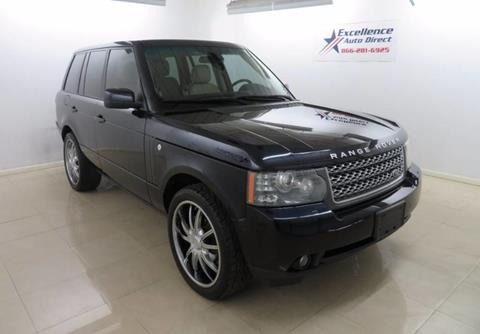 2010 Land Rover Range Rover for sale in Addison, TX