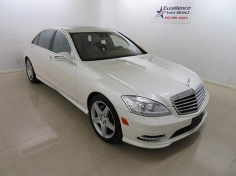 2011 Mercedes-Benz S-Class for sale in Addison, TX