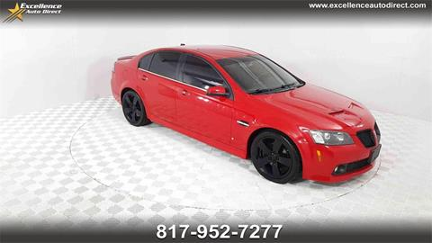 2009 Pontiac G8 for sale in Euless, TX