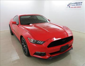 2015 Ford Mustang for sale in Addison, TX