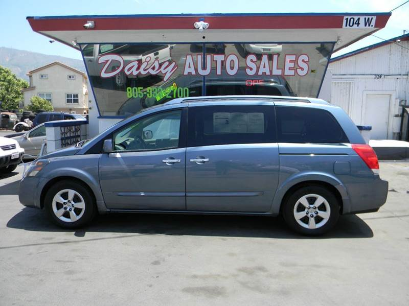 2008 Nissan Quest 35 S 4dr Mini Van In Santa Paula Ca Daisy Auto