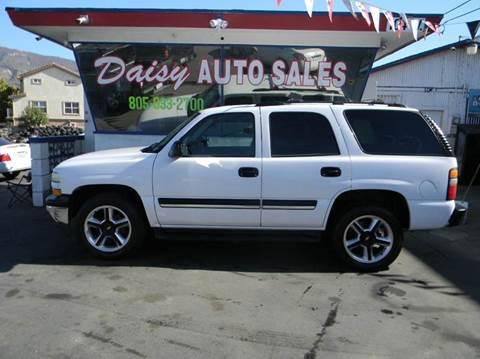 2004 Chevrolet Tahoe for sale in Santa Paula, CA