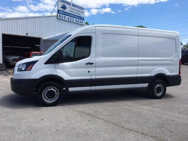 2015 ford transit cargo 250 3dr lwb medium roof cargo van w sliding passenger side door in