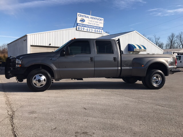 2002 ford f 350 super duty lariat crew cab 7 3 4x4 drw lb in richmond ky central ky truck. Black Bedroom Furniture Sets. Home Design Ideas