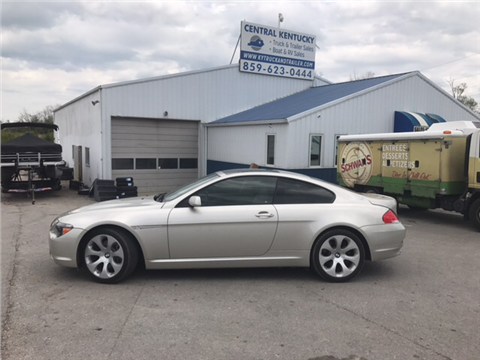2007 BMW 6 Series for sale in Richmond, KY
