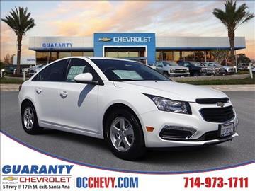 2016 Chevrolet Cruze Limited for sale in Santa Ana, CA