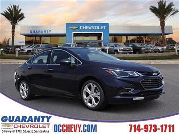 2016 Chevrolet Cruze for sale in Santa Ana, CA