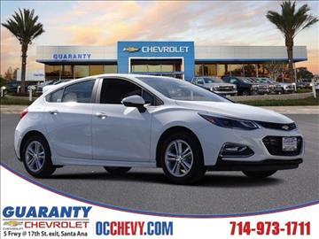 2017 Chevrolet Cruze for sale in Santa Ana, CA