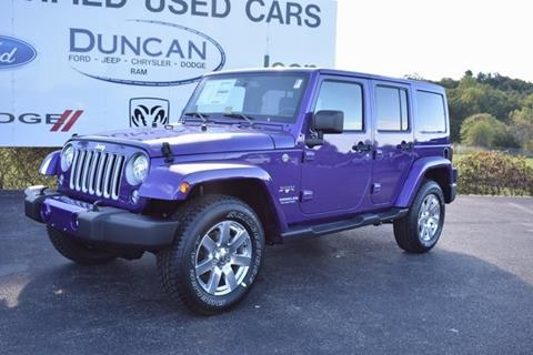 2017 Jeep Wrangler Unlimited for sale in Rocky Mount, VA