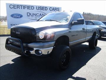 2006 Dodge Ram Pickup 2500 for sale in Rocky Mount, VA